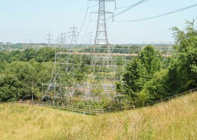Power Line Crossing, Glasgow 001 - enhanced
